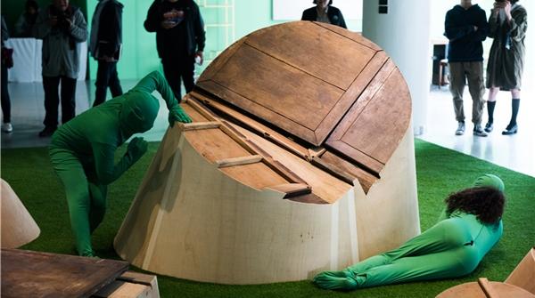 """假如把上海当代艺术馆变成你的""""1000㎡家""""……"""