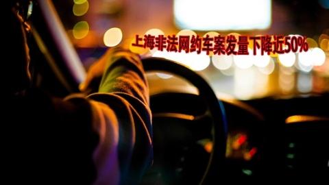 上海非法网约车案发量下降近50%