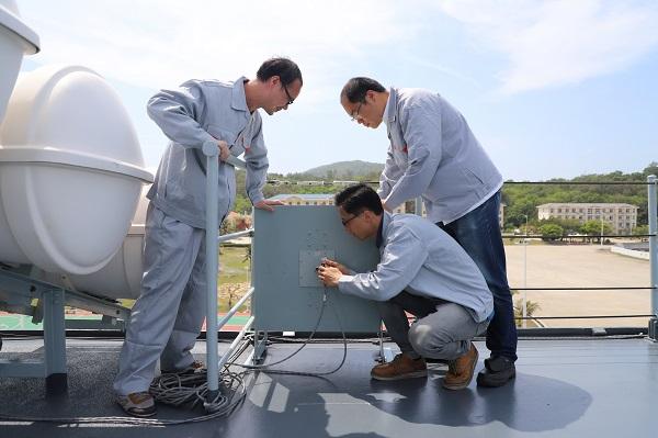 图说:电缆接线情况检查 来源:中船七〇八所.jpg