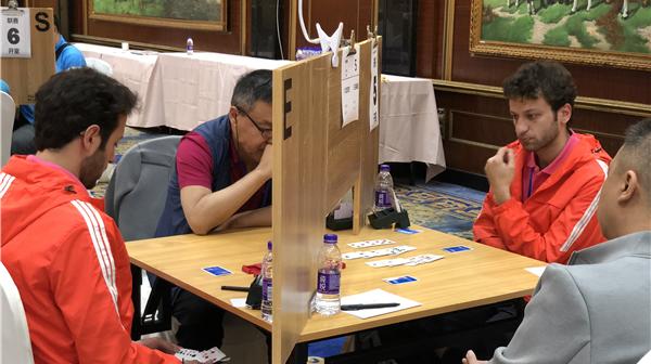全国A类桥牌俱乐部联赛今开赛:外国牌手占据半壁江山