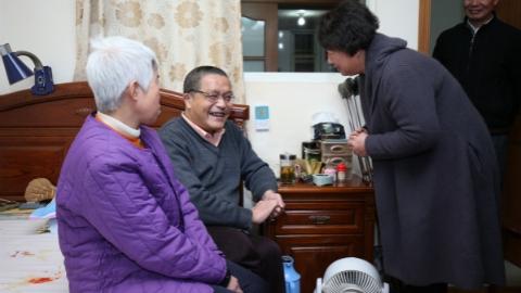 长宁区为重残无业、独居残疾人提供善终服务