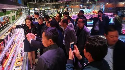 """改革开放再出发   """"上海购物""""有何秘诀?全国100多个农业大县父母官到盒马""""取经"""""""