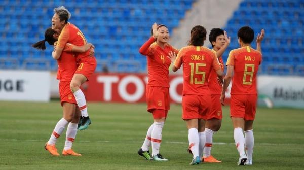 再胜泰国 中国女足蝉联女足亚洲杯季军