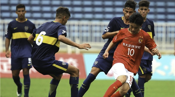 U17国际足球冠军赛请来欧美劲旅 恒大一战知差距