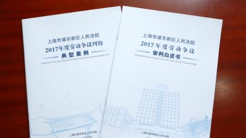 浦东法院发布2017年度劳动争议审判白皮书及典型案例