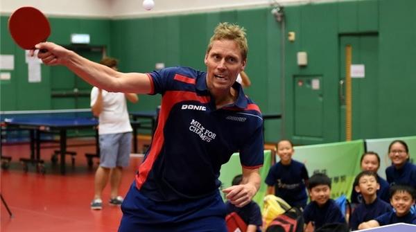 对话瑞典乒乓传奇佩尔森:乒乓是我生命中不可或缺的重要部分