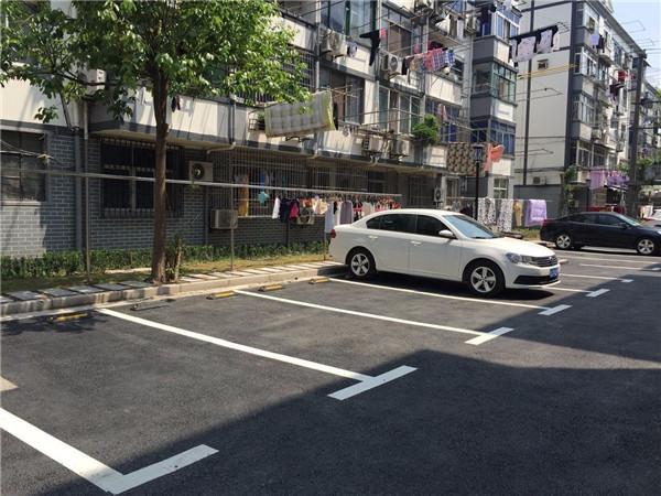破解老小区停车难,这个街道居民家门口有了新