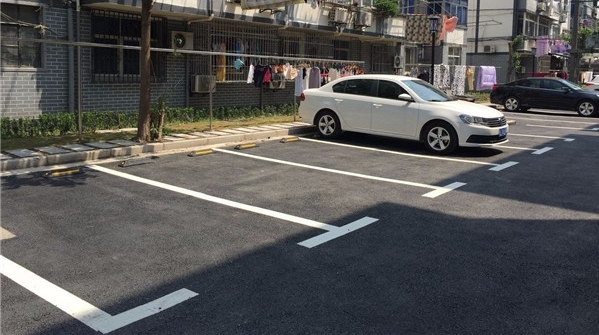 破解老小区停车难,这个街道居民家门口有了新车位