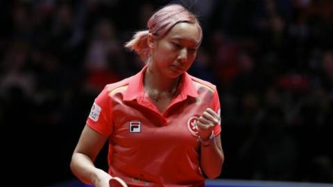 赛前染发 带来好运 20岁中国香港小将苏慧音一战成名
