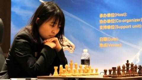 """世界棋后挑战赛 上海居文君漂亮""""二连胜"""""""