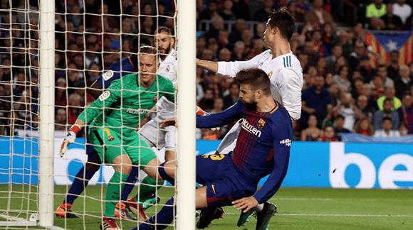 梅西C罗合计为西甲攻入1000球!