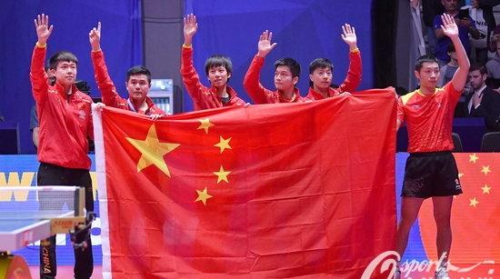 世乒赛男团九连冠!马龙:沉稳的心态是获胜的关键