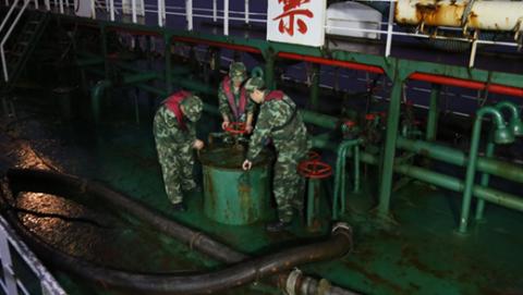 上海海警查获4起成品油走私案  成品油合计2500余吨