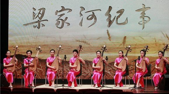 """梁家河归来再排""""梁家河"""" 上海评弹团组织全团演员踏上黄土地"""