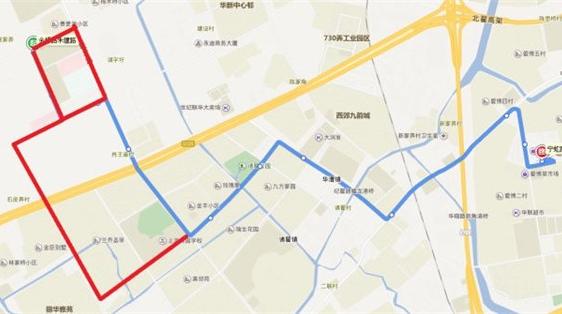 华山西院即将试运行,闵行28路调整走向方便医患