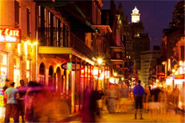 新奥尔良的夜市