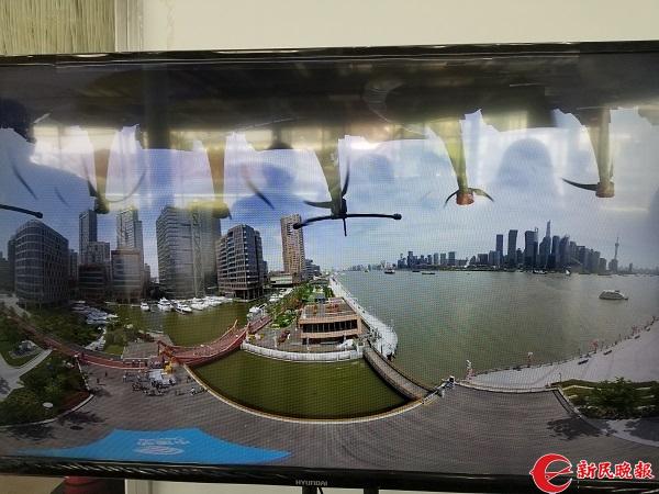 无人机实现全景高清4k视频即拍即传上海向5G视频王晨晓图片