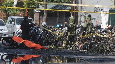 印尼一家六口制造泗水三起教堂袭击