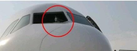 重庆飞拉萨客机风挡玻璃破裂 紧急备降成都