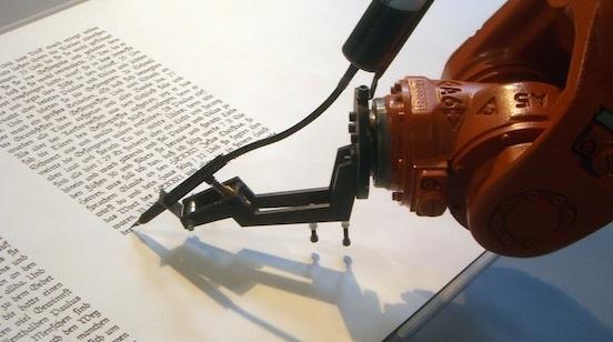 机器诗人及诗一首
