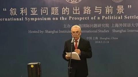 为解决叙利亚问题贡献中国智慧 中国特使解晓岩:我们没有私利只怀公心