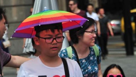 """一入夏就和高温有约 申城今天""""热""""情或达36℃"""