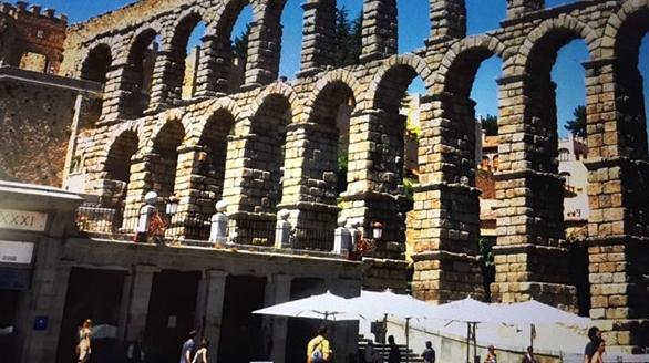 巢云诗钞,马德里马约尔广场,加泰罗尼亚音乐宫,古罗马输水道