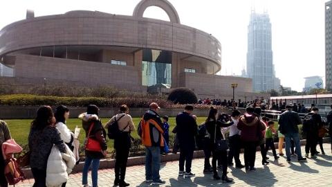 今天国际博物馆日,上海8万余人参观