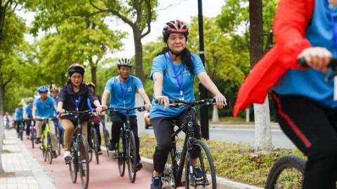 2018年第五届长三角运动休闲体验季上海崇明站活动成功举行
