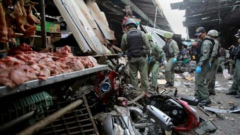 泰国南部昨晚发生10余起小型爆炸