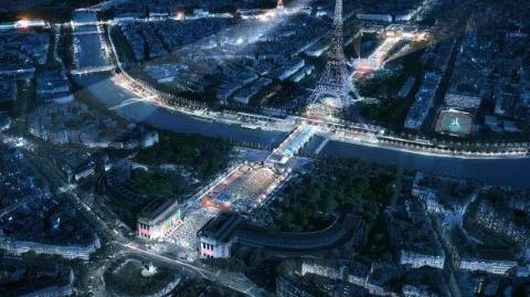 备战奥运,法国铁塔将换新颜