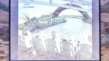 """故宫推出高科技互动艺术展演,带你""""走进""""《清明上河图》"""