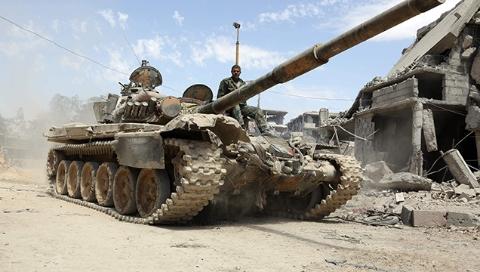 """政府军过河!叙利亚战场出现""""新态势"""""""