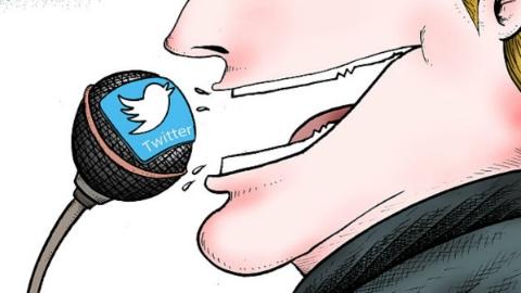 要发推特又怕麻烦 特朗普拒绝每月换手机