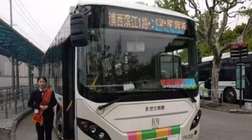 浦西滨江1路客流倍增 新一条滨江公交线路正在规划