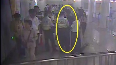 来沪打工第一天就在地铁内被民警逮个正着 原来他在老家撞了车