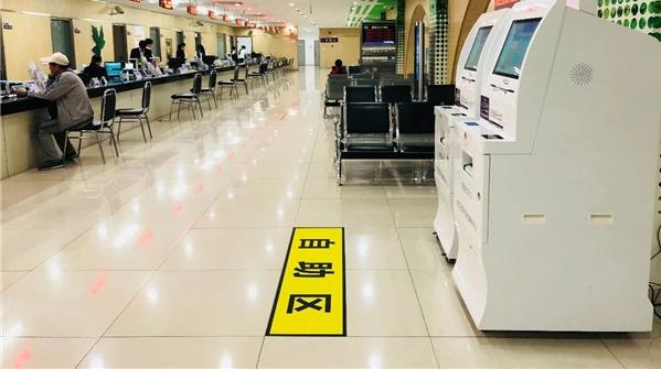 松江医保中心大厅来了个新机器,这些业务不用排队