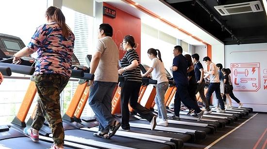 以后,就去上海首家服务全人群的社区健身中心锻炼吧!