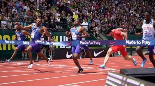 苏炳添今晨超风速跑出9秒90个人百米最好成绩