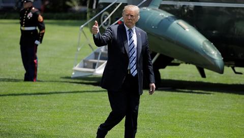 特朗普:美方团队已抵达朝鲜 为两国领导人会晤做准备
