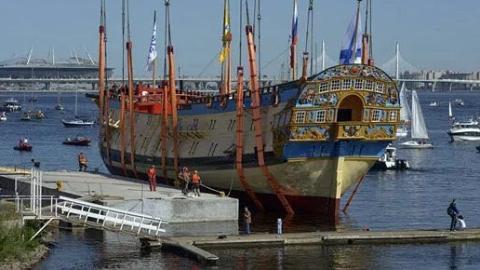俄罗斯成功复制彼得大帝时期船只