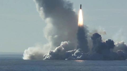 """""""圆锤""""齐射,俄罗斯水下核威慑终成型"""