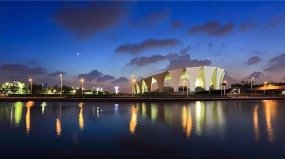 东方体育中心附近将建景观绿化及中心广场