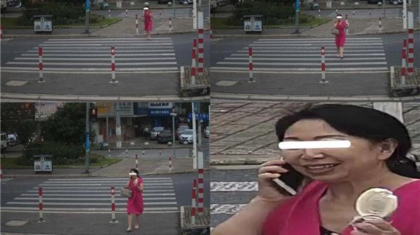 浦东2路口试点抓拍行人闯红灯,戴口罩也能识别