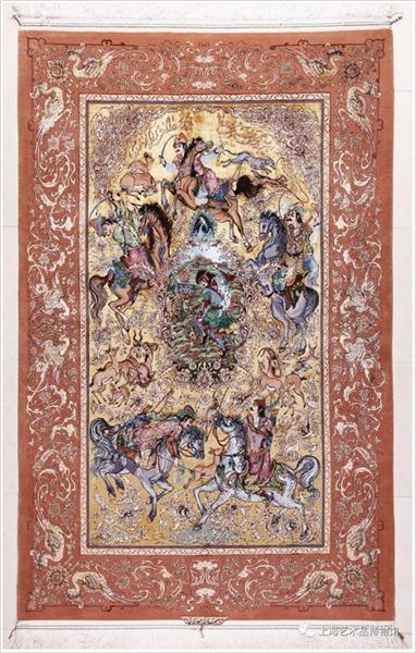 阿克巴·马迪伊(Akbar Mahdiee )地毯作品.png