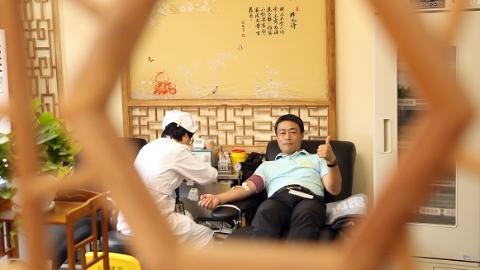 """闵行区""""七宝老街爱心献血屋""""启用 接受市民捐献热血"""