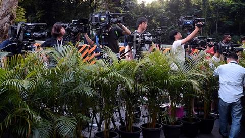 """""""特金会""""进入倒计时 俩韩国记者擅闯朝鲜大使住处被遣返"""