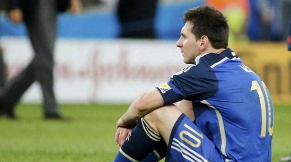 梅西不给自己留后路:踢不好就退出国家队!