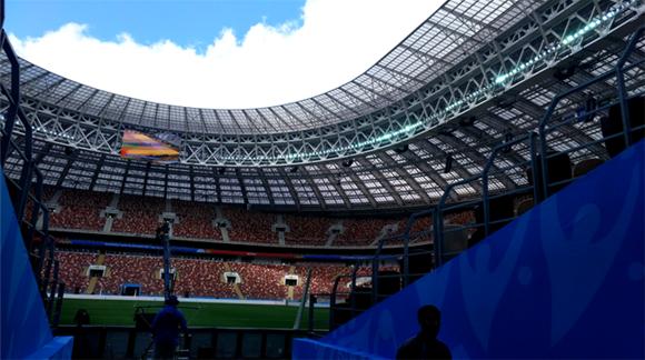 视频丨62岁的卢日尼基旧貌换新颜!本报特派记者探访世界杯揭幕战球场