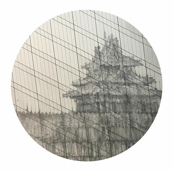"""毛冬华《""""望京系列""""——角楼》.jpg"""